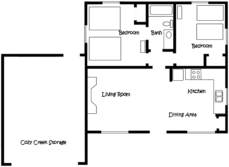 Cottage Seven Floor Plan